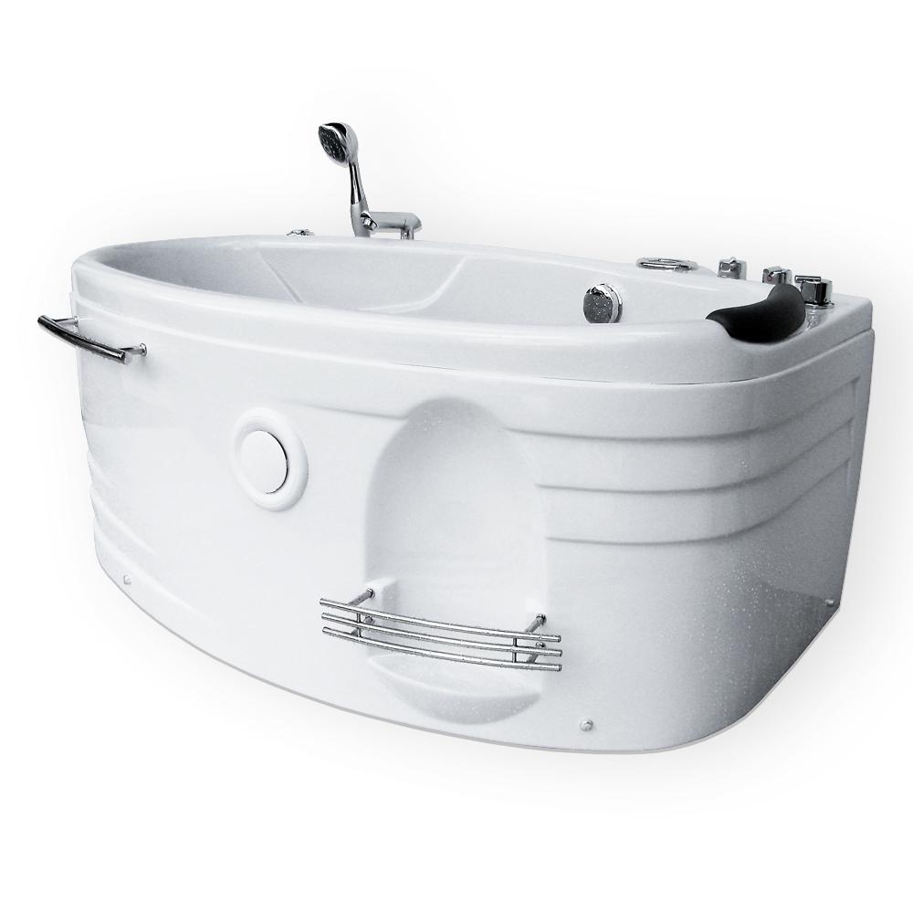 7年保証! ・ 77SMILE-CP ・ 143x77x62h ・バスタブ、ジェットバス、ハンドシャワー付き、全身マッサージ、ジャグジーバス、ジャグジー浴槽